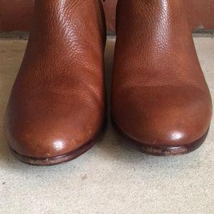 Sam Edelman Shoes - Sam Edelman Saddle Tan Leather Petty Ankle Boot 6